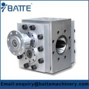 Extruder Plastic Ancillary Gear Metering Pump