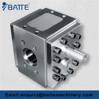 High pressure rubber products gear pump