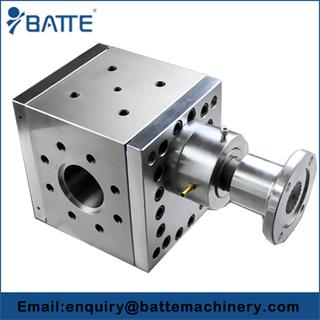 We manufacture extrusion gear pump