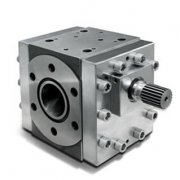 Analysis of pressure characteristics of melt gear pump